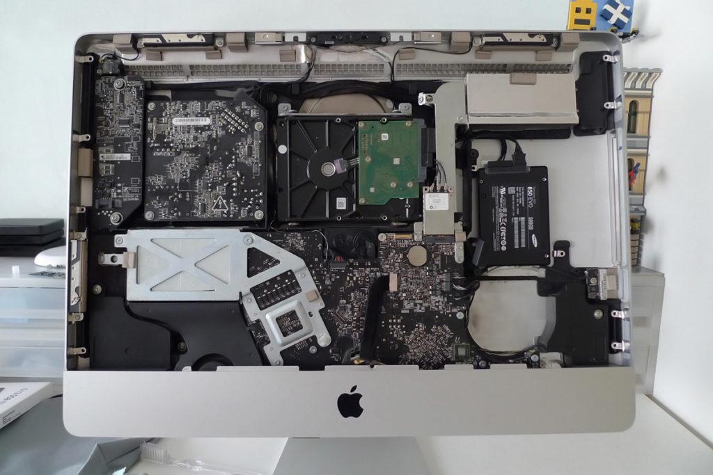 """iMac 2011 21.5"""" Dual Drive SSD Upgrade Samsung 850 EVO"""