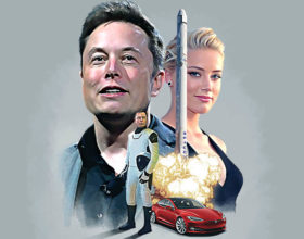 MUSK — SpaceX Poster